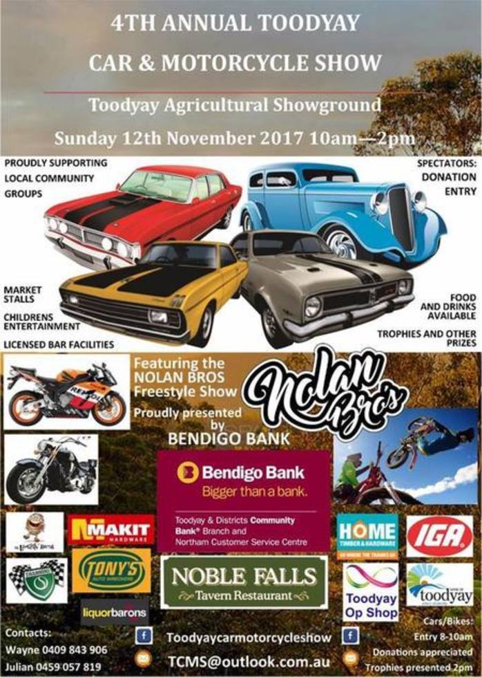 4th Annual Toodyay Car and Motorcycle Show