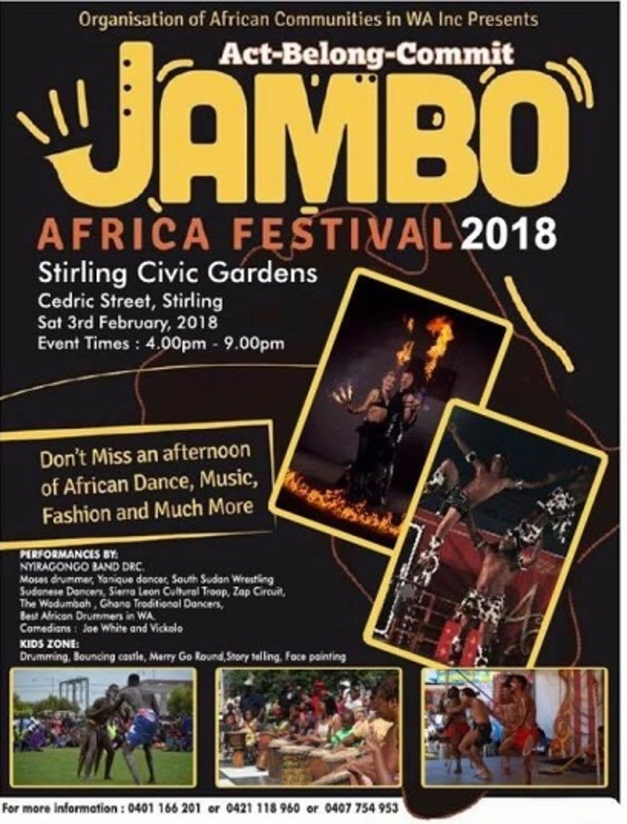 Act Belong Commit JAMBO Africa Festival 2018