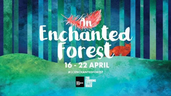 An Enchanted Forest at Garden City Shopping Centre
