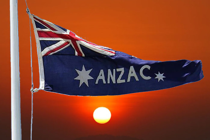 ANZAC Day Sunset Service at ANZAC Cottage 2018