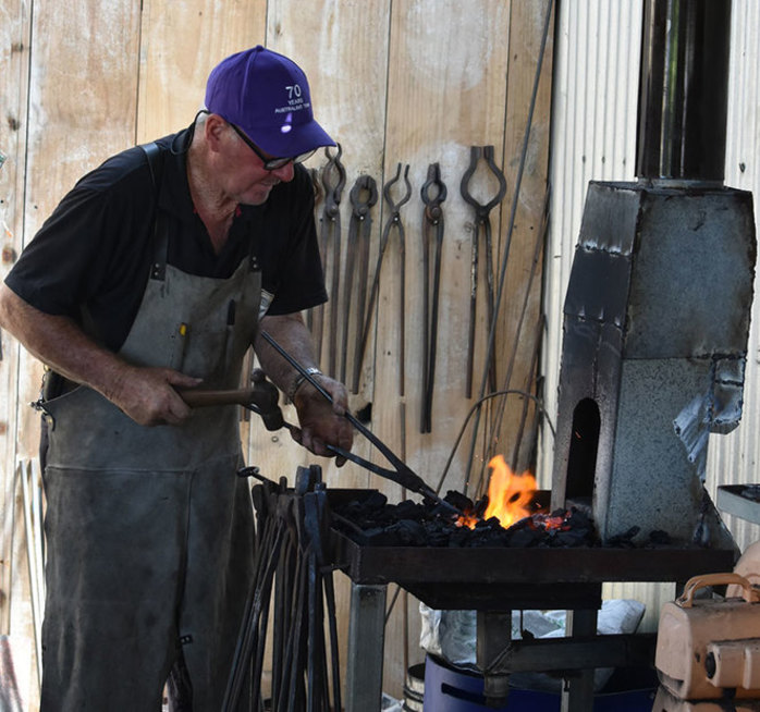 Blacksmith Blast at the South West Rail and Heritage Centre
