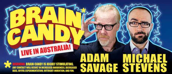 Brain Candy with Adam Savage and Michael Stevens