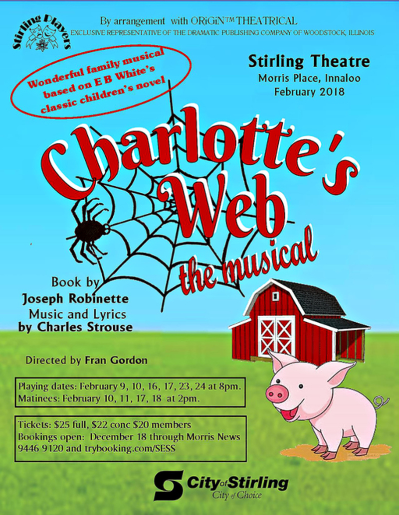 Charlotte's Web The Musical at Stirling - Charlotte's Web The Musical at Stirling