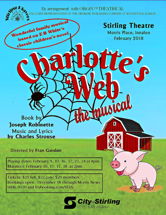 Charlotte's Web The Musical at Stirling