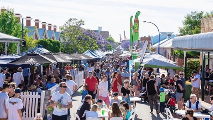 East Fremantle's George Street Festival
