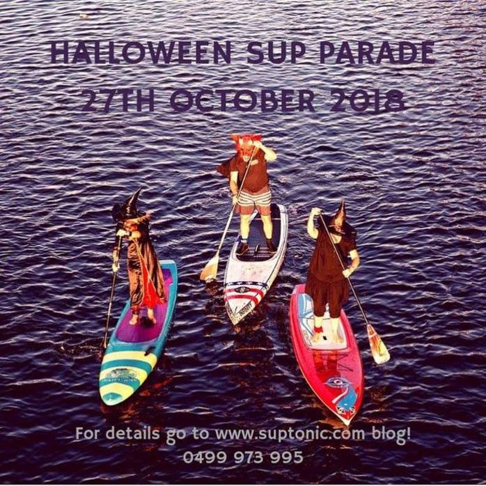 Halloween Stand Up Paddle Parade
