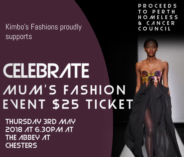 Perth Homeless Support Group and Cancer Council Fashion Fundraiser
