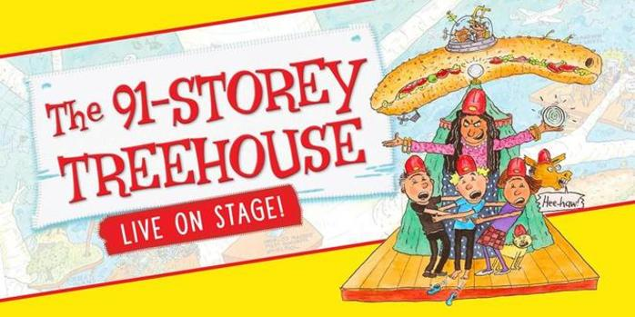 The 91-Storey Treehouse By Andy Griffiths - Live in Perth