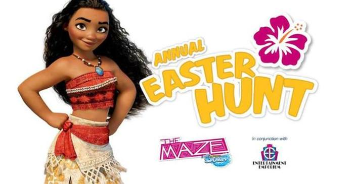 The Annual Easter Hunt - The Maze